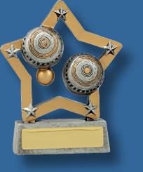 Lawn balls trophy