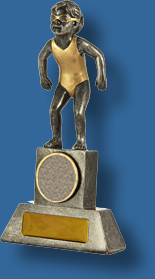 Female tiny tots swimming trophy