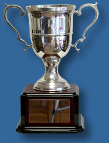 Classic Designed Solver Plated Trophy Cup