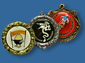 Custom Insert Large Medals