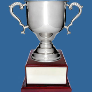 Silver Plated Trophy Cup on Timber Base