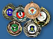 Custom Insert Small Medals