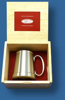 Tankard in presentation box