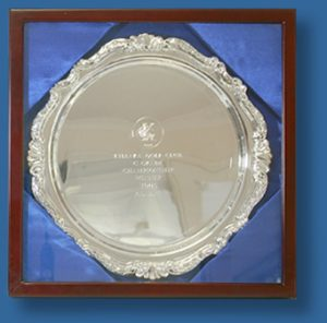 Large trophy tray