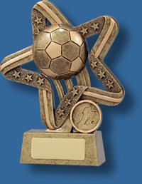 Soccer trophy 18