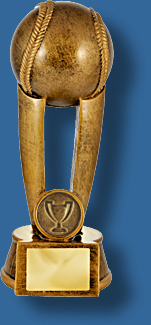 Tall Baseball Trophy award