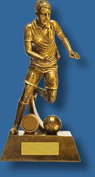 Soccer trophy 16