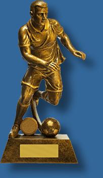 Soccer trophy 15