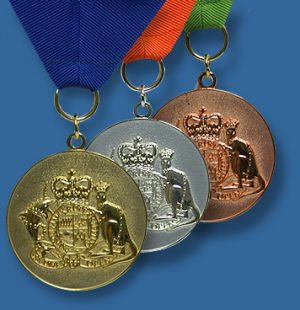 Coat of Arms award medals
