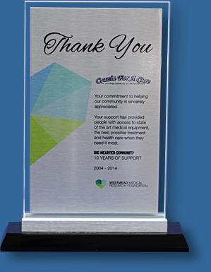 Glass and metal award 7