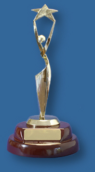 Female star trophy
