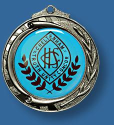 Silver school medal