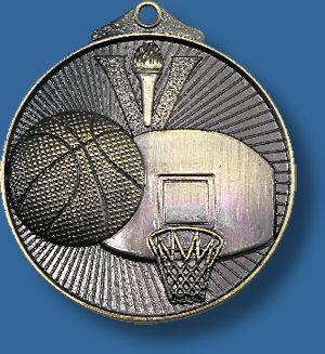 Basketball medal sunraysia