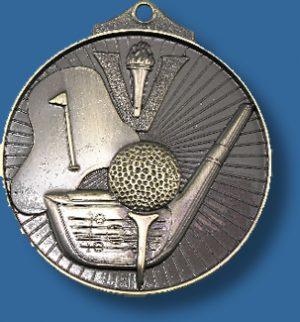 Golf medal Sunraysia