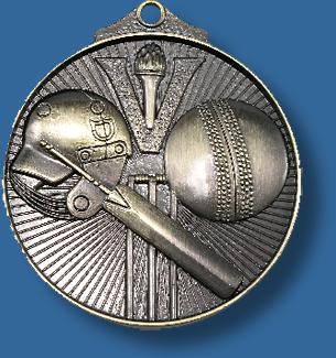 Cricket medal sunraysia