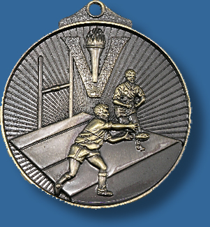 Rugby Touch Oztag medal