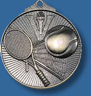 Tennis medal sunraysia