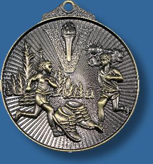Athletics medal sunraysia