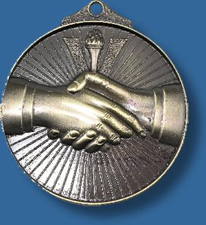 Handshake medal Sunraysia