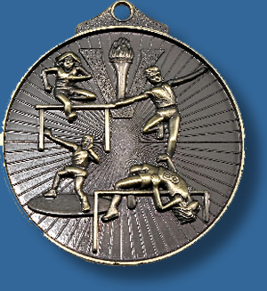 Field athletics medal sunraysia