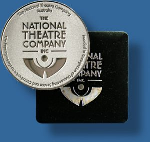 Customised medal case.
