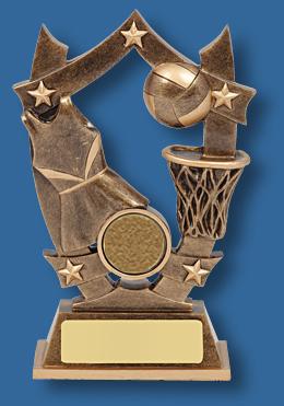 Netball trophy 1