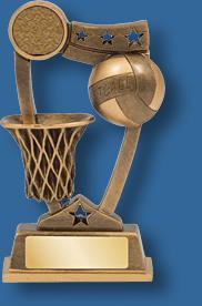 Netball trophy 7