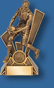 Action figure Aussie Rules trophy