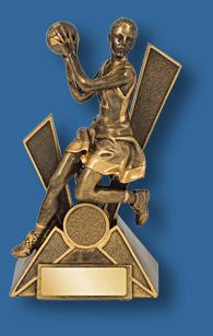 Netball trophy 5
