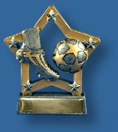 Soccer trophy 21