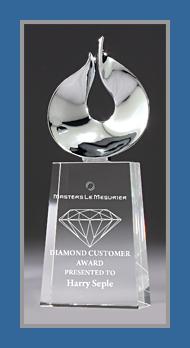 Chrome and glass award 3