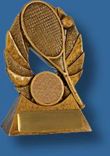 Bronze tennis trophy budget