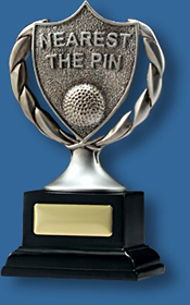 Nearest the pin Golf trophy