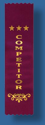 Competitor ribbon