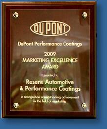 Acrylic plaque Dupont