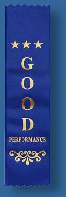Good performance ribbon
