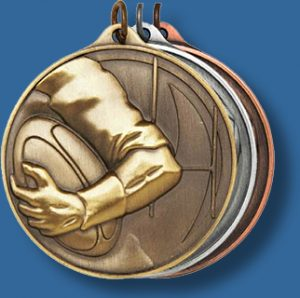 50mm Rugby medal antique series