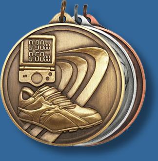 50mm Athletics medal antique series