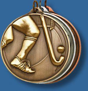 50mm Hockey medal antique series
