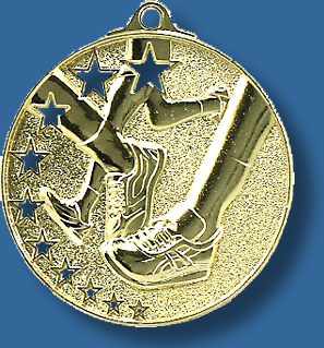 Cross Country medal bright star