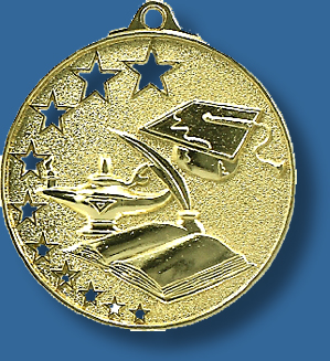 Academic medal star award