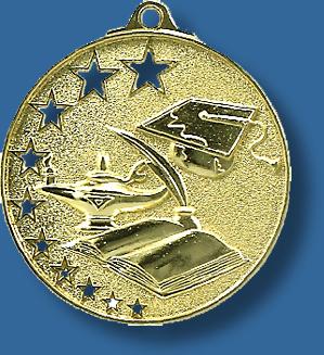 Academic medal star award