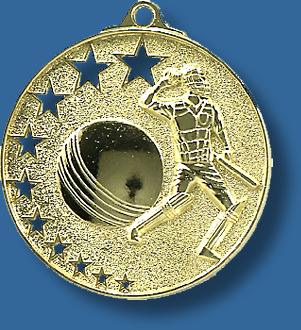 Cricket medal star award