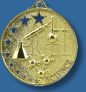 Science Medal Bright star
