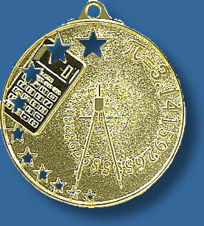 Mathematics Medal star series