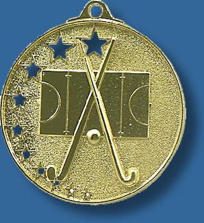 Hockey medal star award