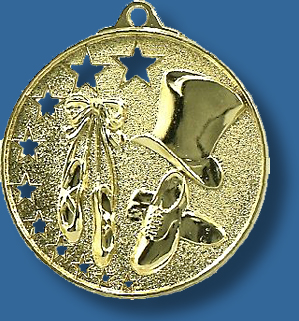 Dance medal bright star