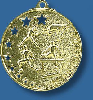 Little Athletics medal bright star