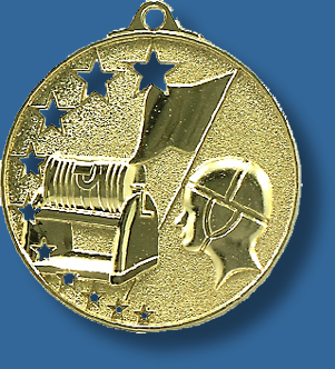 Life Saving medal bright star