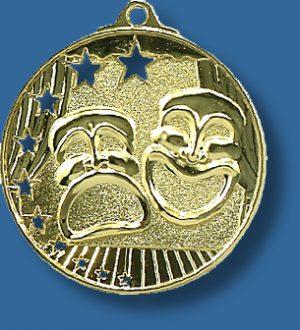 Drama medal bright star